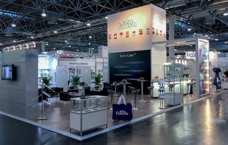 Alufinish at the Aluminium Fair in Duesseldorf